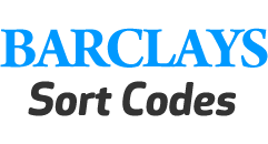 Barclays Sort Codes